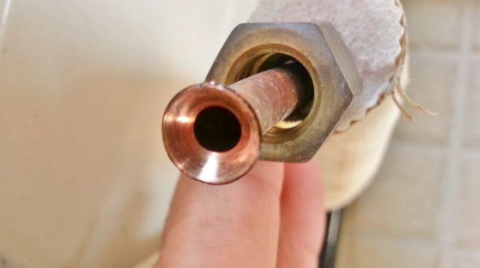 エアコンの正常なフレア加工