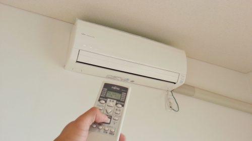エアコンから水が漏れたら電源をOFF