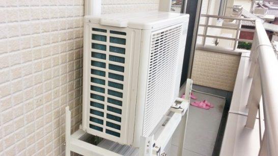 暖房が効かない場合のエアコンの室外機を点検