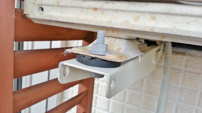エアコン室外機の標準ゴム