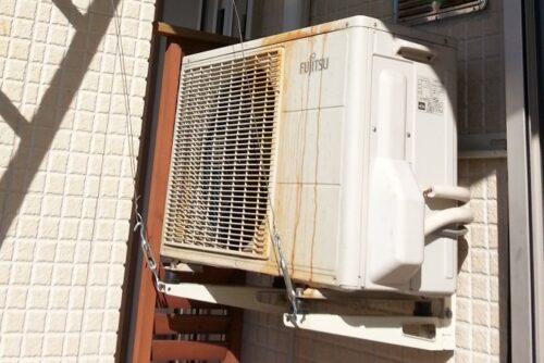 富士通エアコン室外機