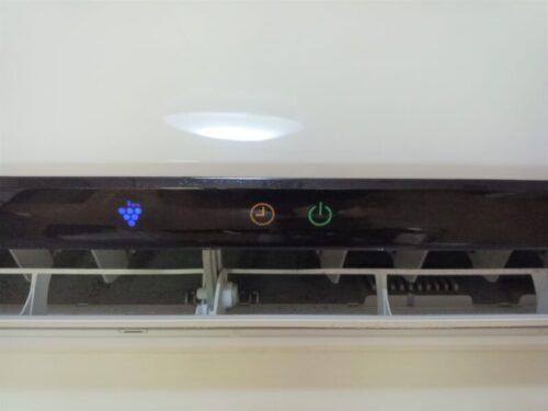 シャープエアコンの室内機ランプが点滅