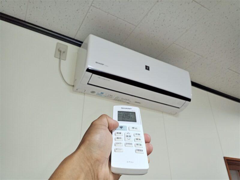シャープエアコンの暖房が効かない