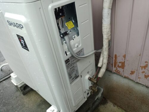シャープエアコンの故障修理