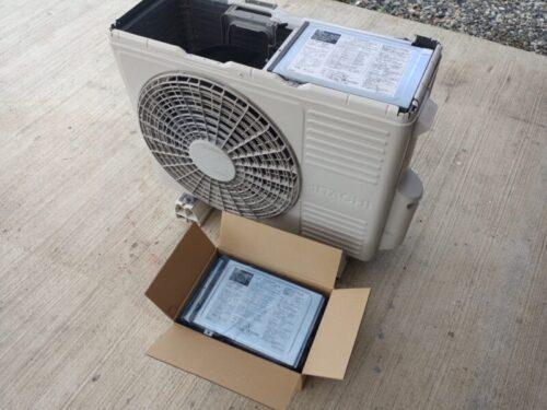 エアコン室外機の基盤交換修理