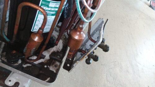 エアコンの冷媒ガス漏れ箇所