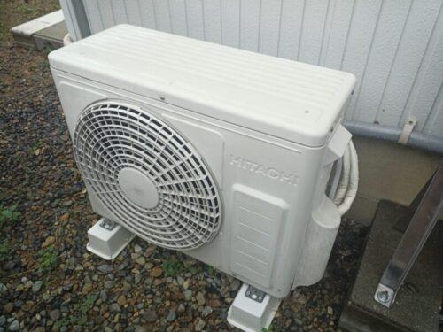 日立エアコンの室外機が動かない