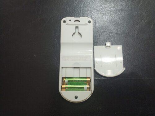 日立製エアコンのリモコン電池切れ