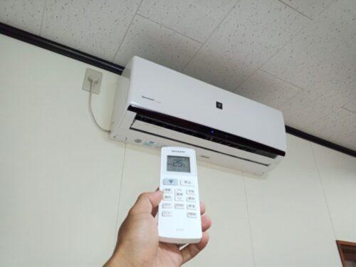 シャープ製エアコンの暖房が効かない