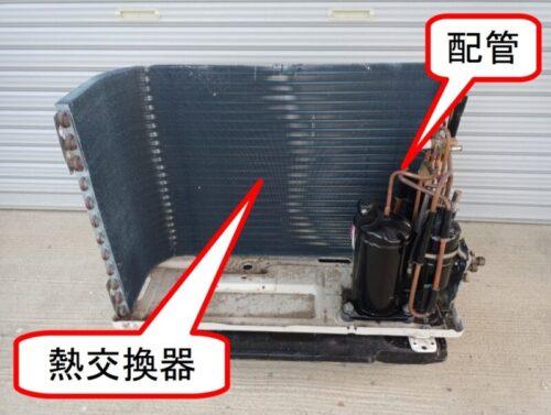 室外機の主な故障原因(熱交換器と配管など)